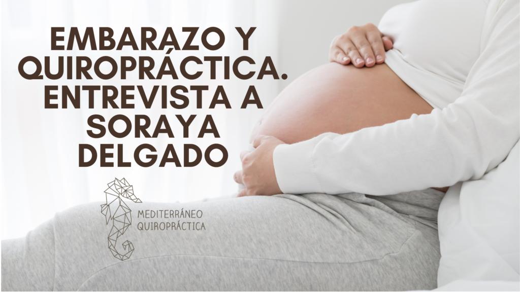 embarazo y quiropractica